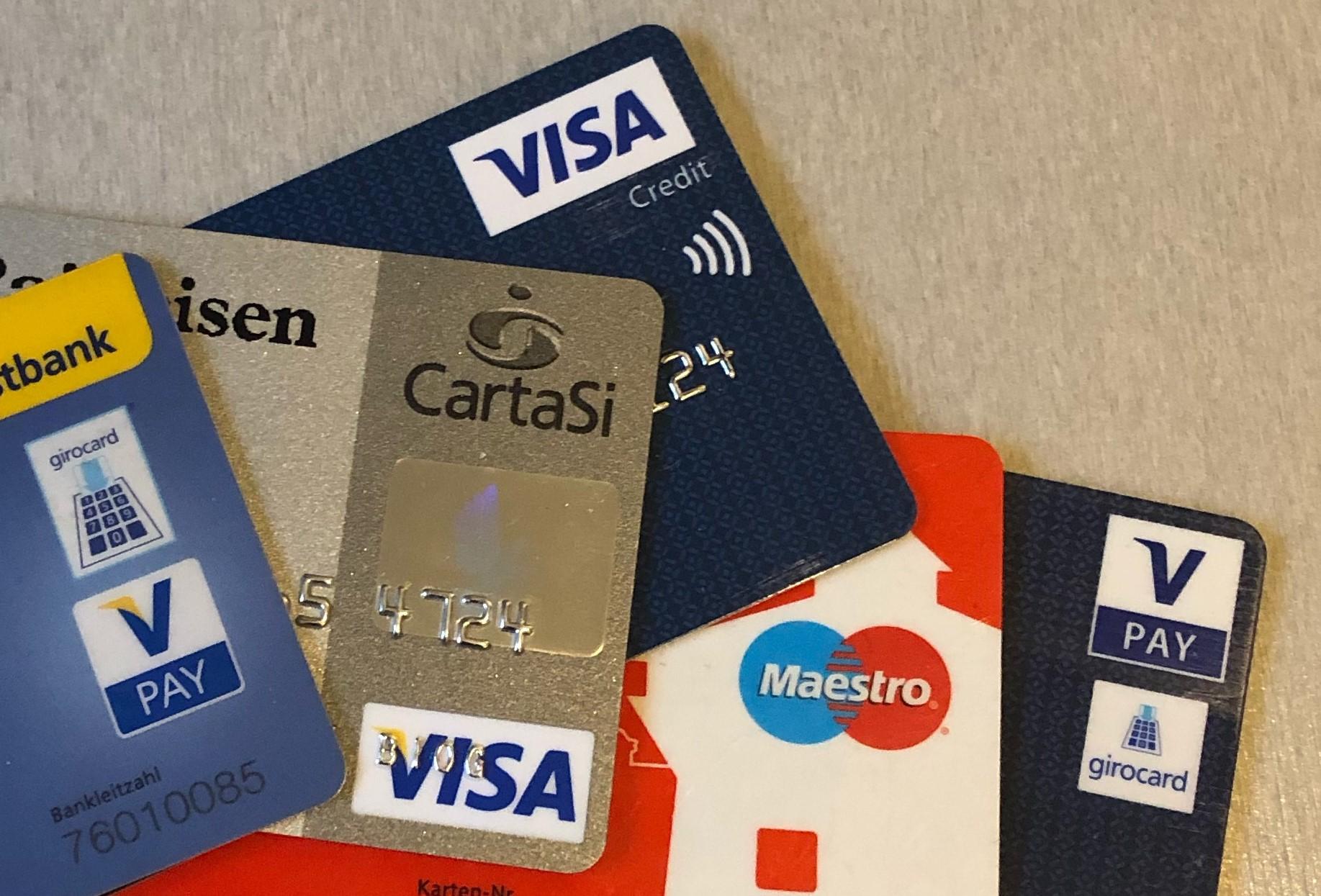 bei uns ist Kartenzahlung möglich